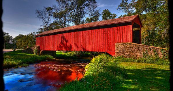 Lancaster county covered bridges pa covered bridges for Country living inn lancaster