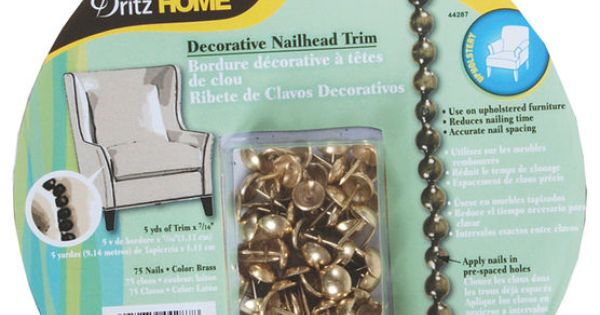 Nailhead Trim Brass 5 Yds Nailhead Trim Room And Apartments