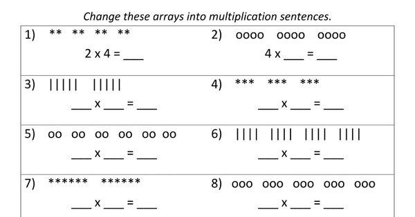 Beginning Multiplication Worksheets Multiplication