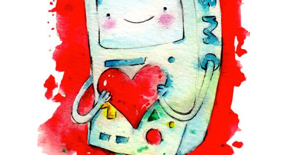 bmo valentine adventure time