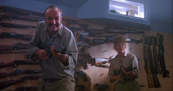 Tremors. Broke into the wrong rec room. | Moments of Movie ...