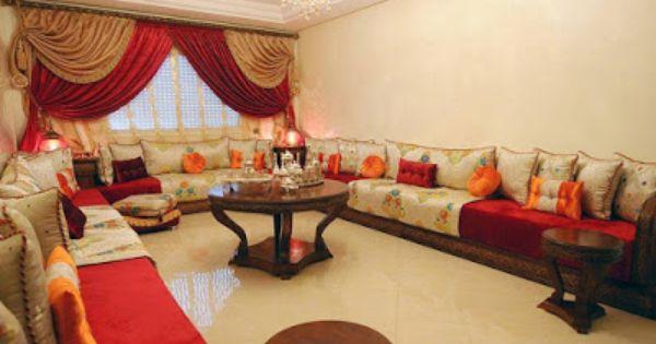 مطبخ الراقيات صالونات مغربية راقية و جميلة بالصور Home Decor Living Room Decor Moroccan Interiors