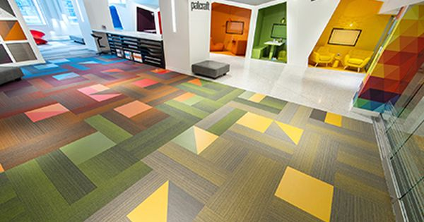 Patcraft S Colorful Mixed Materials Converge As Well As Resilient Flooring Admix Were Showcased In Patcraf Kids Church Decor Resilient Flooring Carpet Tiles