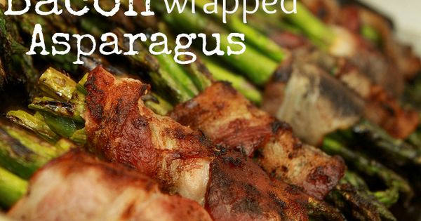Delicious and easy, these bacon wrapped asparagus bundles make a perfect side