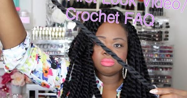 Crochet Braids Questions And Answers : Twists, Crochet twist and Havana twists on Pinterest