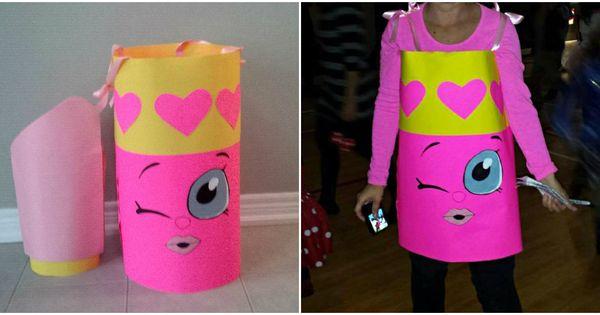 Shopkin Costume Lippy Lips Shopkin Costume For Halloween | Kid Fun | Pinterest | Lips Costumes ...