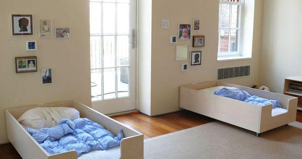 Cozy kid's bed idea