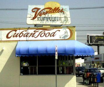 Versailles Restuarant Los Angeles Cuban Food Usa