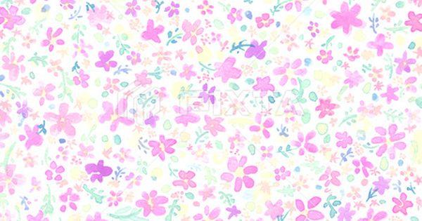 背景素材 水彩 花柄 花柄 イラスト 水彩