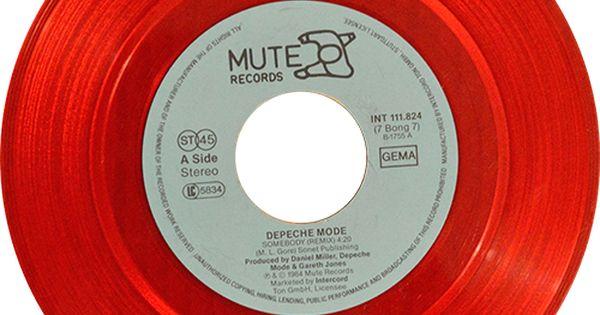 Depeche Mode Blasphemous Rumours Somebody Depeche Mode Vinyl Records Vinyl