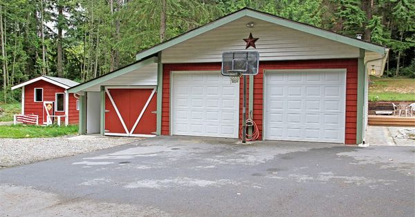 Detached garage playhouse new wa house for reference for Playhouse with garage plans