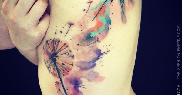 watercolor tattoo- dragon fly
