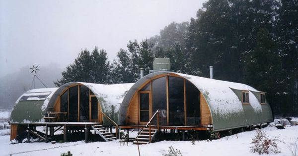 Quonset hut by ral homes farm and studio pinterest for Planimetrie in stile fienile