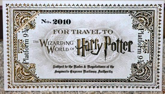 Our Invitation To The Wizarding World Of Harry Potter Attractions Magazine Wizarding World Of Harry Potter Harry Potter Ticket Harry Potter Kids
