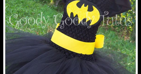 Superhero Tutu Dresses. Ariannas Halloween costume next year? I think YES!!!