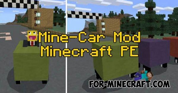 Mine Car Mod For Minecraft Pe 0 16 0 Minecraft Pocket Edition Minecraft Pe Minecraft