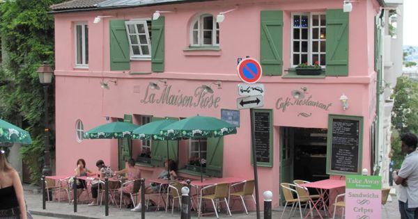 La maison rose cafe restaurant (the pink house cafe restaurant ...