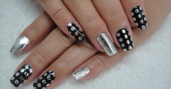Minx Nails Nailed It Pinterest Beautiful Dots And Art