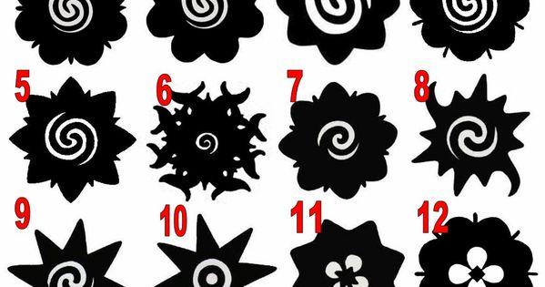 bungai terung tattoo motif signs and symbols pinterest inheemse tatoeages rozen en tatoeages. Black Bedroom Furniture Sets. Home Design Ideas