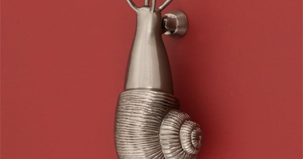 Brass Snail Door Knocker - Door Knockers - Hardware Strangely attracted to