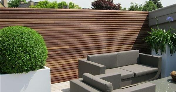 Buitenkant pinterest tuin - Eigentijds buitenkant terras ...