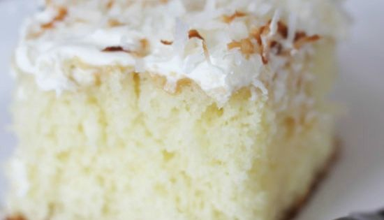 CAKE RECIPES FROM SCRATCH | Coconut Cream Cake! One of the most