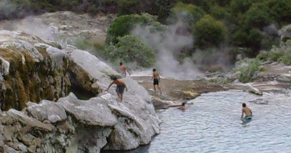 Rotorua Mud Pools North Island New Zealand Places Spaces Pinterest Beautiful Places