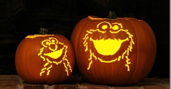 Explore Some Of Typepad S Best Pumpkin Carving Cookie Monster Pumpkin Pumpkin