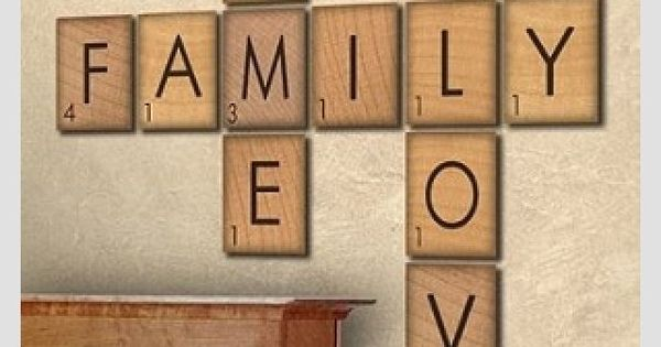How To Make Giant Scrabble Tile Table Numbers Letter
