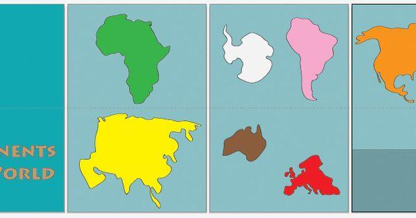 Continents  EnchantedLearningcom
