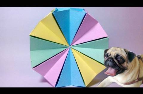 how to make an origami magic circle very cool and simple