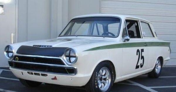1965 lotus cortina mk1 vintage race car front sir john. Black Bedroom Furniture Sets. Home Design Ideas