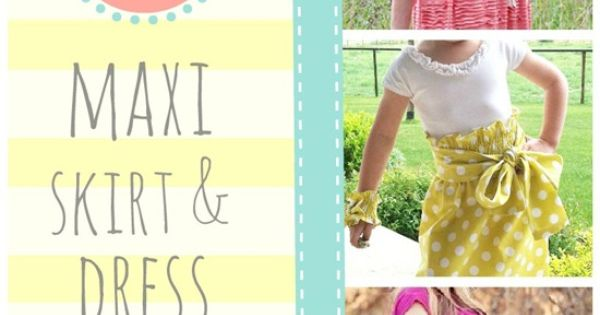 41 Amazing Maxi Skirt and Dress DIYs - some of the links