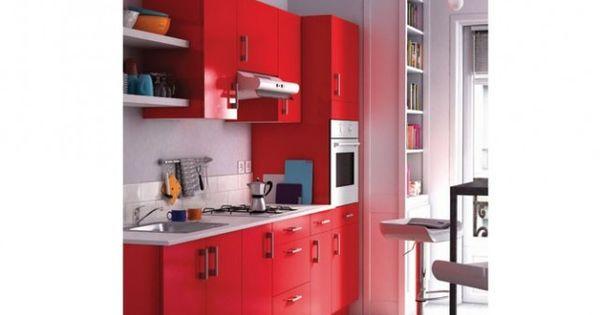 Petite cuisine rouge spicy inspiration pour l 39 appart for Petite cuisine rouge