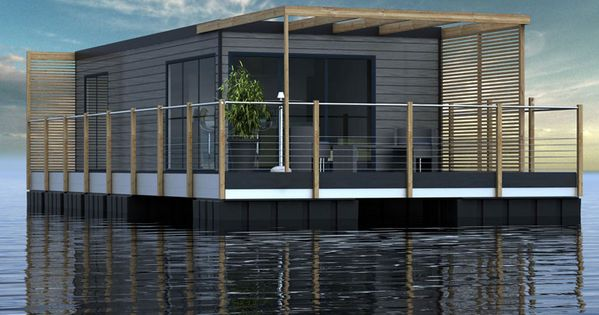 Aqualivio L Habitat Flottant 6 Personnes Cabane Sur L 39 Eau Maison Flottante Pinterest