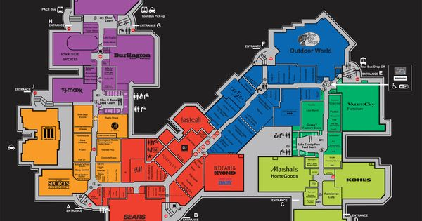 gurnee mills mall best mall places we have been pinterest