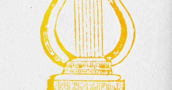 Apollo Greek God Symbol Lyre