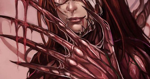 Carnage Mary jane she-venom symbiote transformation she ...