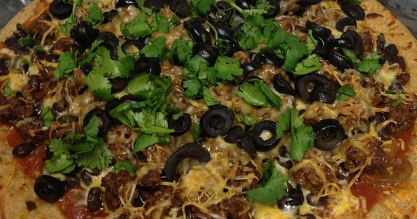 Mexican Pizza - 5 Weight Watchers Points Plus