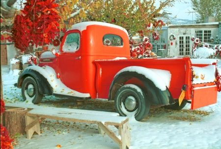 Old Pick Up Desktop Nexus Wallpapers Wallpaper Christmas Nostalgia Rustic Christmas