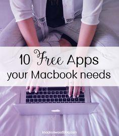 10 Free Apps Your Mac Needs Macbook Hacks Macbook Macbook Pro Tips