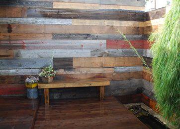 Reclaimed Wood Fence Wood Fence Design Hardwood Design Outdoor