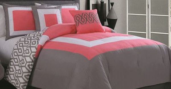 Latitude Run Reina 6 Piece Comforter Set Size Full Queen Color