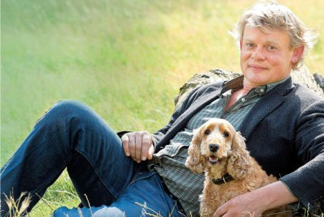 'I haven't acted since my mother died' Martin Clunes tells