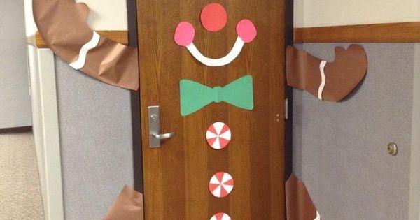 Gingerbread Door Decorationgingerbread Door Decorations