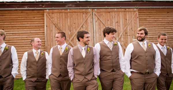 Fall Farm Wedding by Katelyn James Photography | Groom and