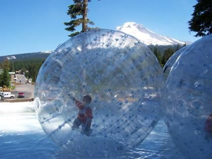 Human Hamster Ball Lake Resort Adventure Park Bubble Fun