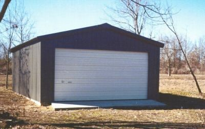 20 X 24 X 10 Steel Frame Shed Garage Building Kit Building A Shed Small Shed Plans Wood Shed Plans