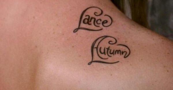 name tattoos heart and name tattoo design ideas and ...