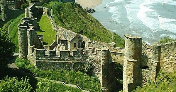 Meczet Pinterest: Scarborough Castle, Yorkshire, England